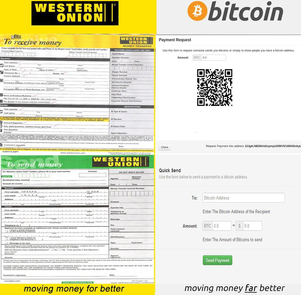 sell bitcoin for western union what is happening to Western Union Money Order Blank Western Union Money Order