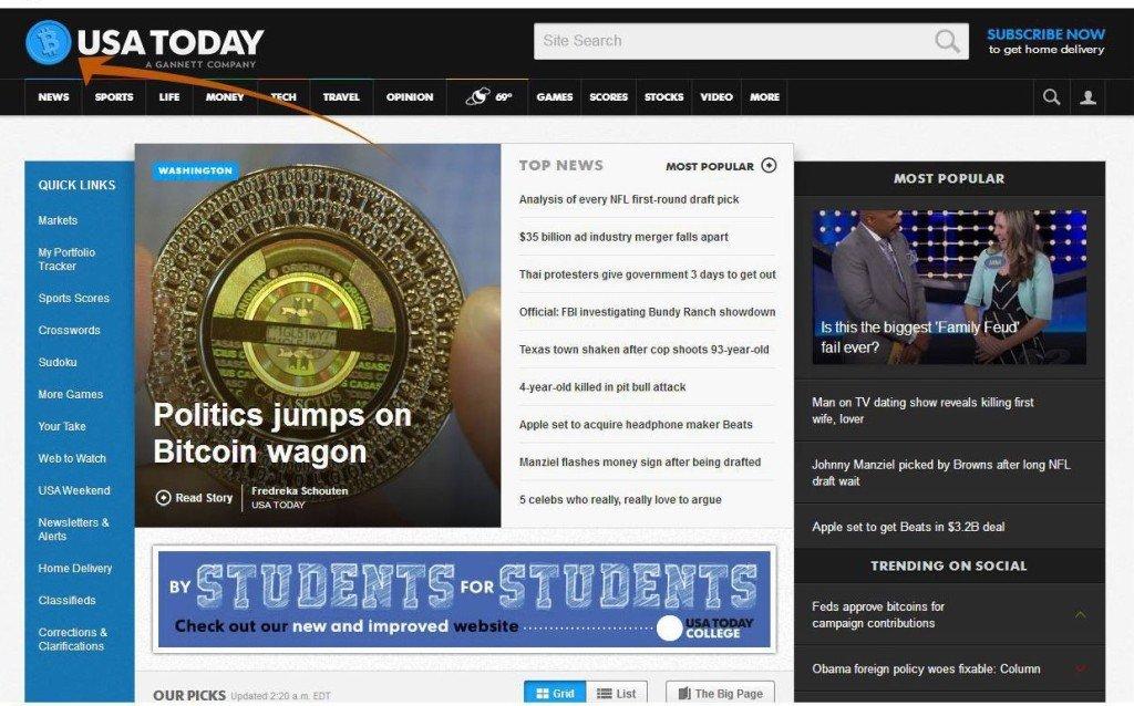 bitcoin ve volební kampani USA