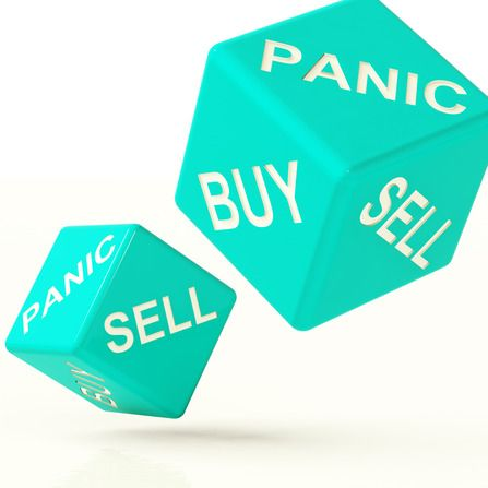 bitcoin panický prodej