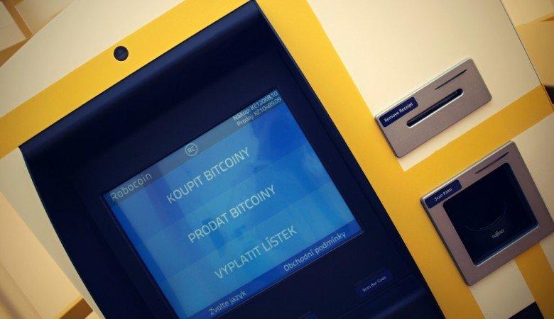 První obousměrný bitcoin bankomat Praha