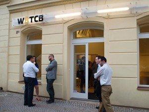 klientské centrum Robocoin - bitcoin ATM Praha