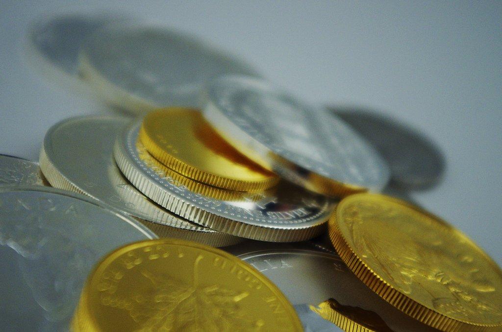 zlato, stříbro, alternativy