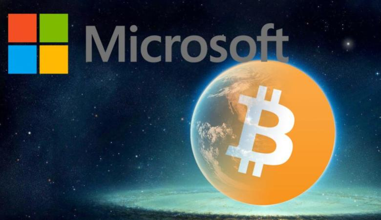 microsoft začal přijímat bitcoin