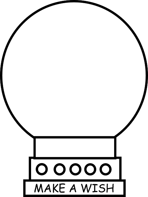 bitcoin - křišťálová koule