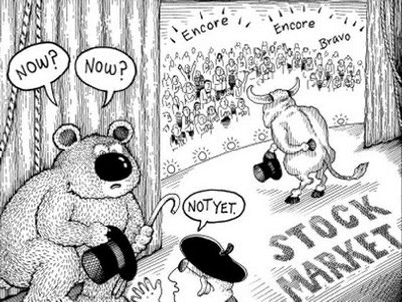 bitcoin býci a medvědi