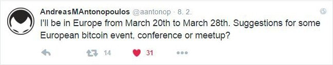 andreas antonopoulos tweet prague