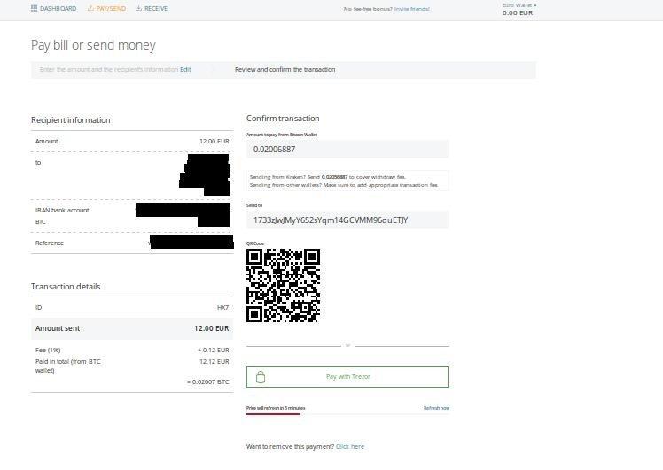 platba bitcoinem cashila