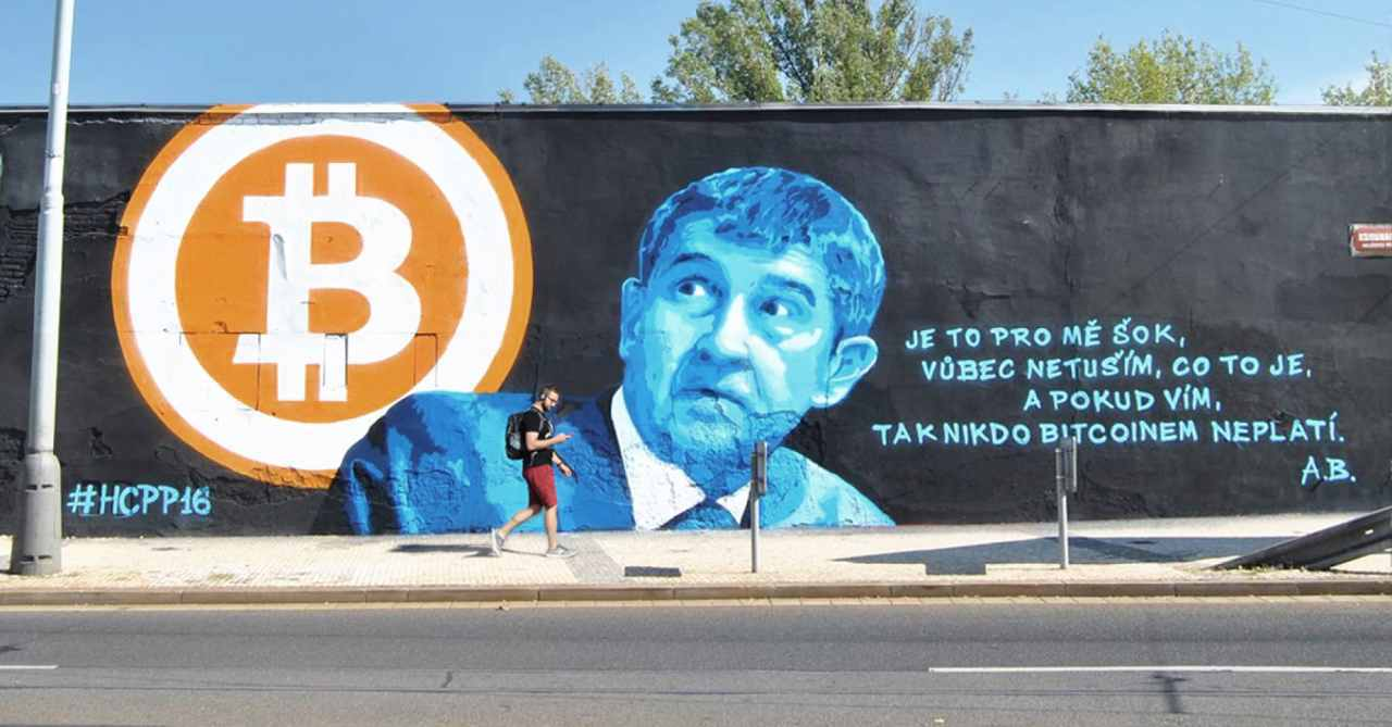 babiš bitcoin paralelní polis