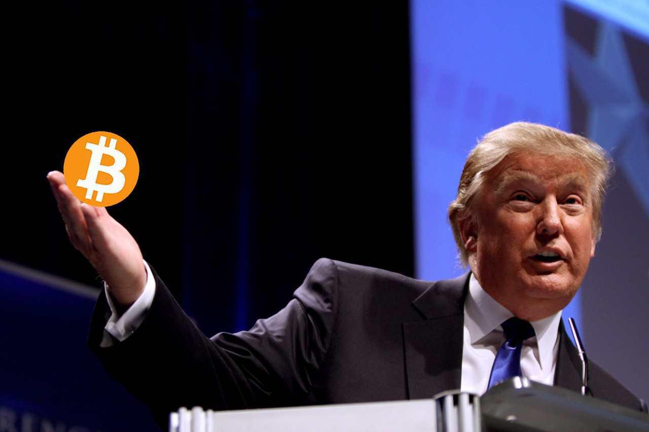 kurz bitcoinu posílil díky Trumpovi
