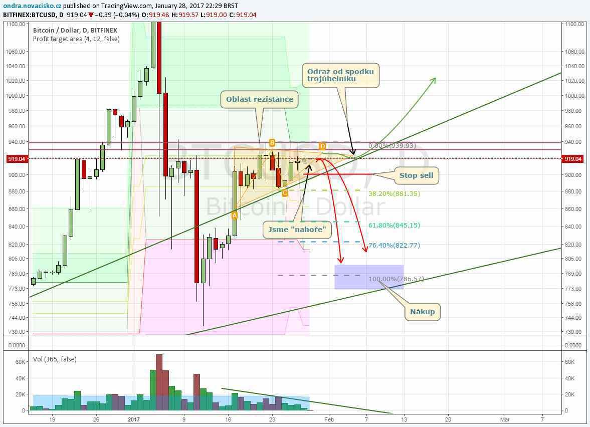 bitcoin kurz analýza leden 2017