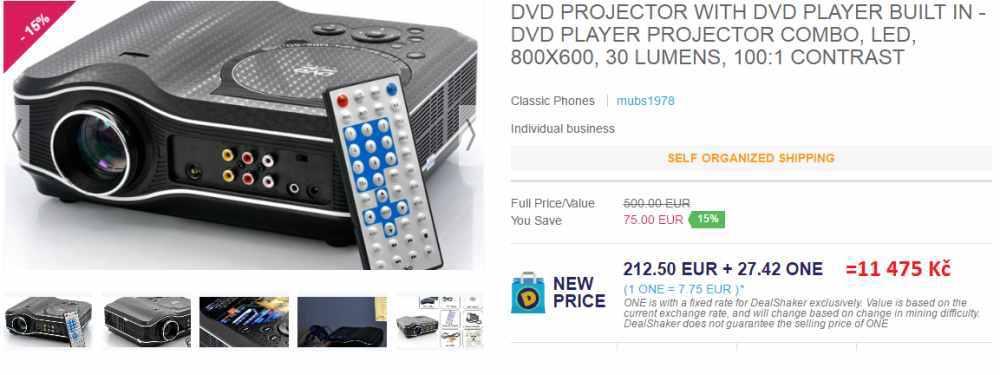 onecoin kurz - projektor