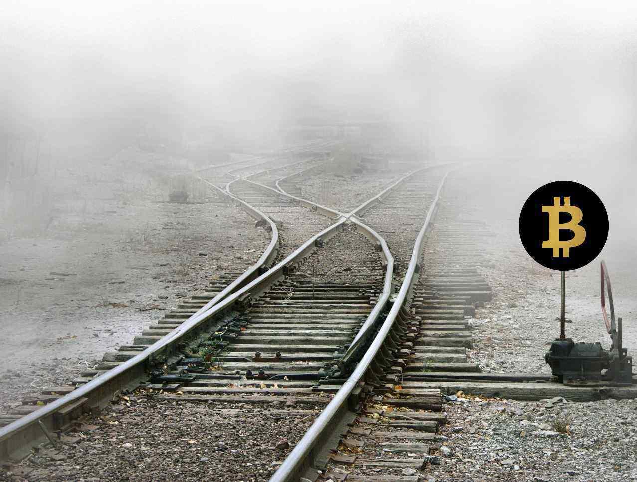 bitcoin na rozcestí