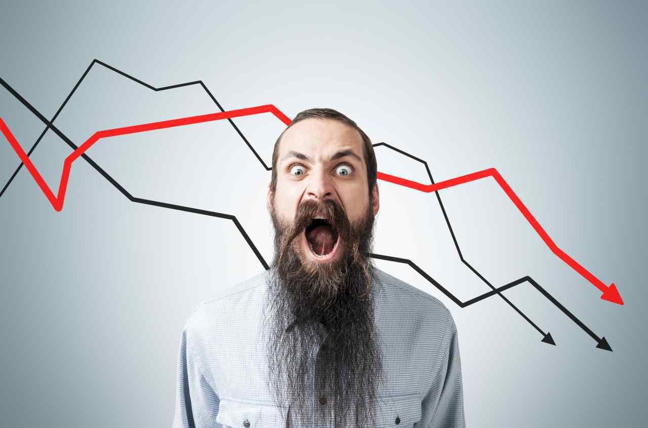 pokles ceny bitcoinu