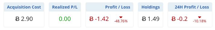 altcoiny portfolio investice