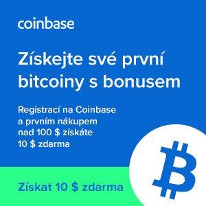 bitcoinová burza coinbase