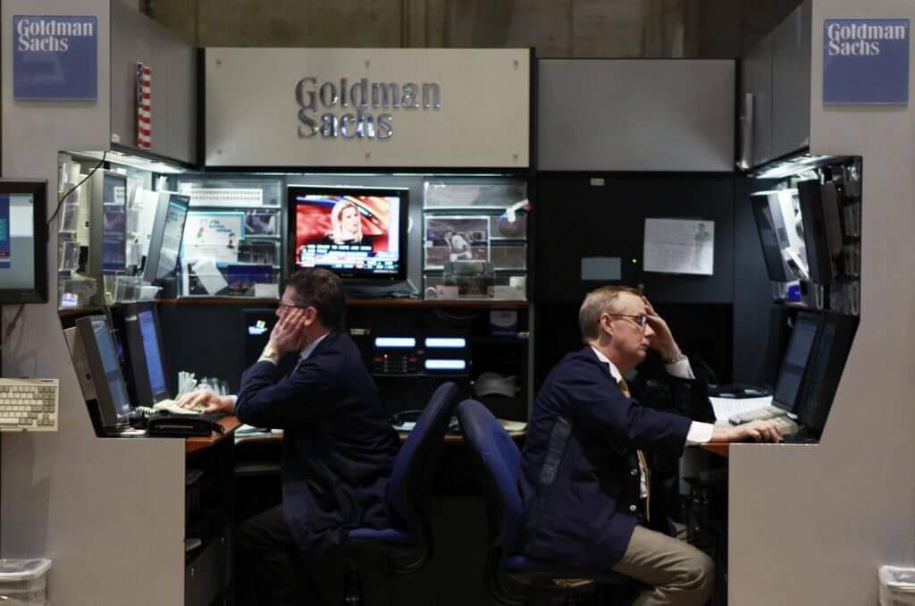 Goldman Sachs trading desk
